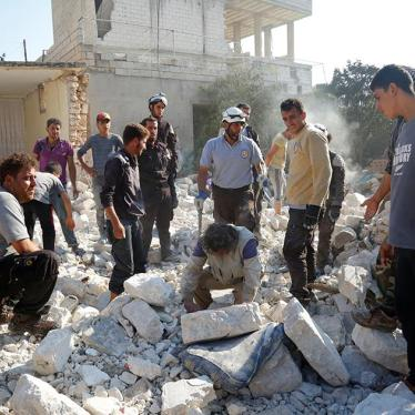 Syria: Government Airstrikes Closing Down Hospitals