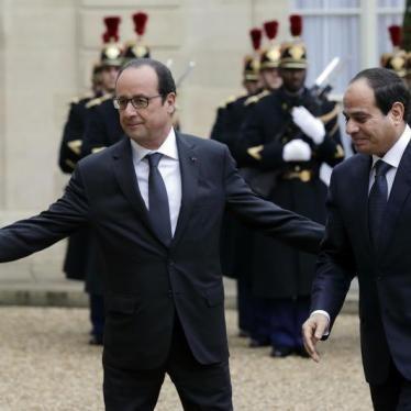 Les droits humains doivent être au cœur de la relation franco-égyptienne