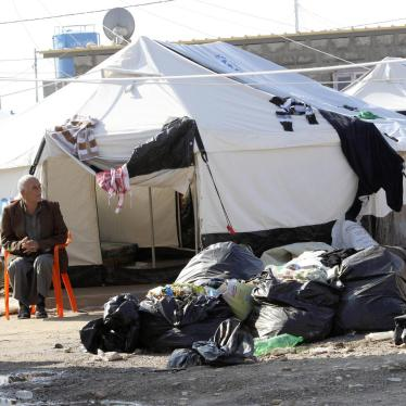 Iraq/KRG: Displaced People Can't Move Freely