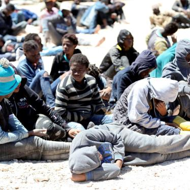EU plans for Libya risk crossing migration 'red lines'
