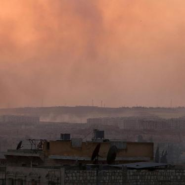 Syria: Civilians at Risk as Aleppo Siege Tightens