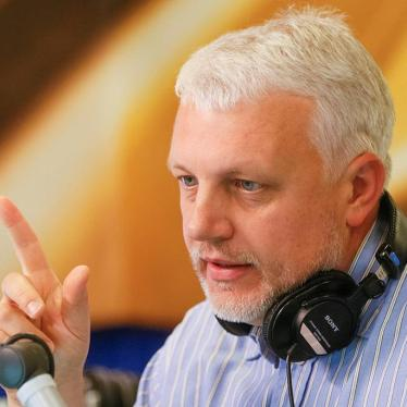 Ukraine: Who Killed Journalist Pavel Sheremet?
