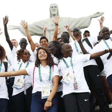 Dispatches: Olympic Refugee Team Not Just Going for Gold