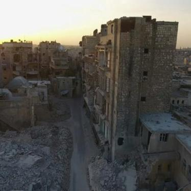 MENA Syria Aleppo old city destruction October 2016