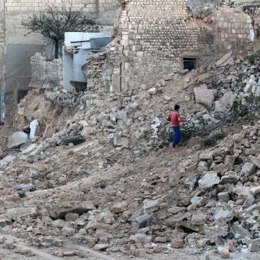 Syrie : Acheminer d'urgence de l'aide humanitaire aux résidents d'Alep