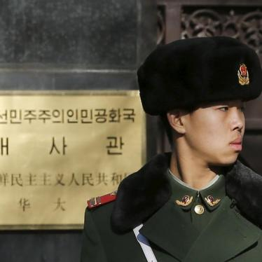 Dispatches: China's Tired Line on Human Rights in North Korea