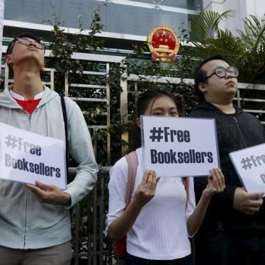 Dispatches: Hong Kong Booksellers Are Free – Or Are They?
