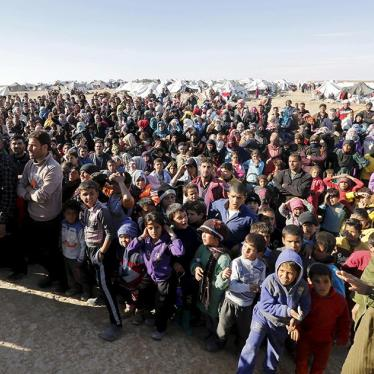 Jordan: 70,000 Syrians Trapped at Border