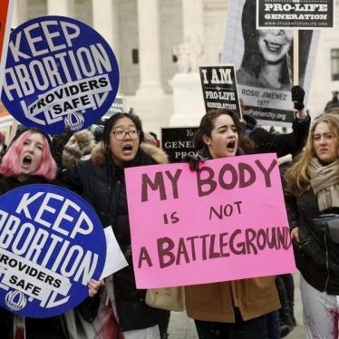 Dispatches: Regulating US Abortion Providers Off the Map