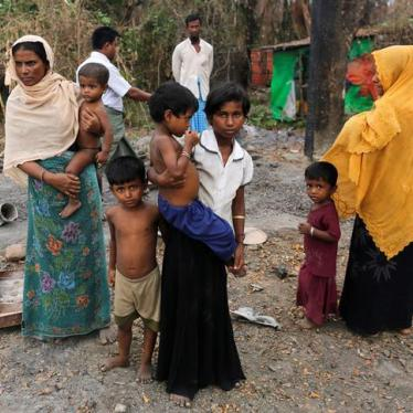 Burma: Military Burned Villages in Rakhine State
