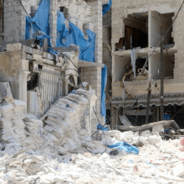 Syria: Disregard for Civilian Life in Hospital Attacks