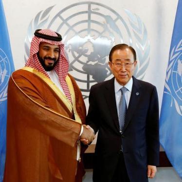 Suspend Saudi Arabia from the UN Human Rights Council