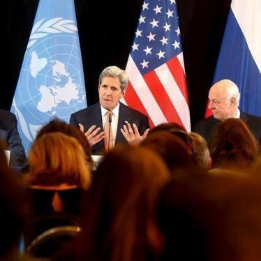 US, Russia: Investigate Deadly New Attacks in Aleppo, Syria