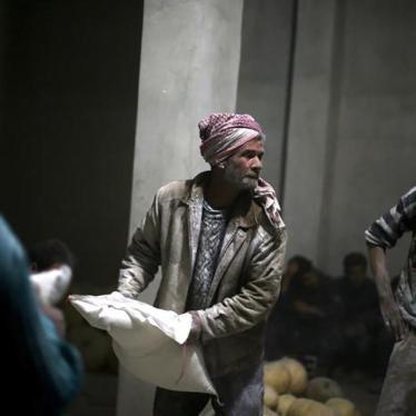 Syria: Promised Aid for Key Areas Blocked