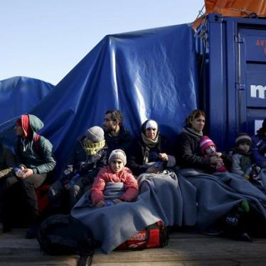 EU/Greece: Share Responsibility for Asylum Seekers