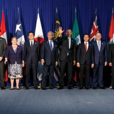 Trans-Pacific Partnership: Serious Rights Concerns