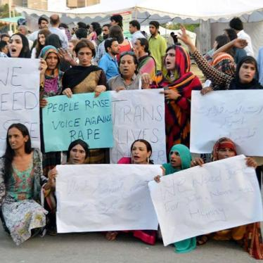 Pakistan: Attacks on Transgender Women Surge