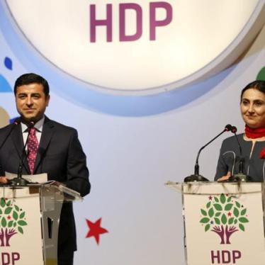 Turkey: Opposition Party Leaders, MPs Jailed