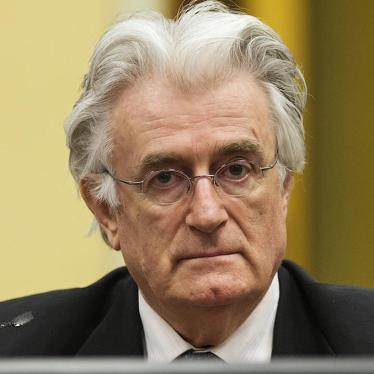 ICTY/Bosnia: Karadzic Convicted for Srebrenica Genocide