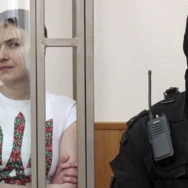Russia: Ukrainian Pilot Convicted
