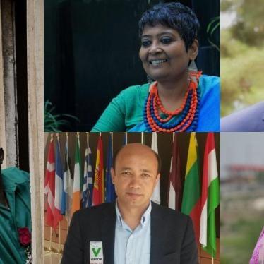 Prix Alison Des Forges 2016 : Hommage à des défenseurs des droits humains