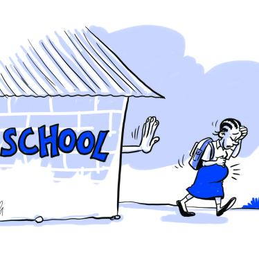 Cartoon for Tanzania Education Report