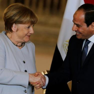 Germany/Egypt: Agreement Risks Complicity in Abuses