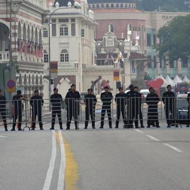 Malaysia: Tolak Lanjutan Rang Undang-undang Keselamatan