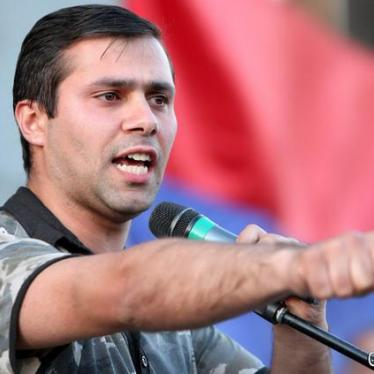 Opposition Activist Imprisoned in Armenia After Protest