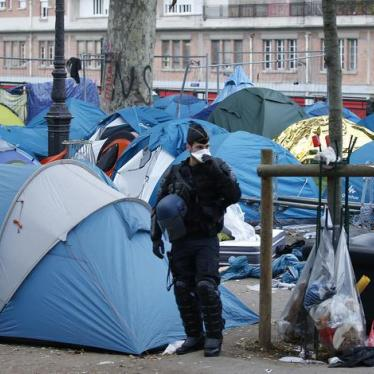 Police Abuse Against Migrants in France Must Stop