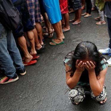Deadly Milestone in Philippines' Abusive 'Drug War'