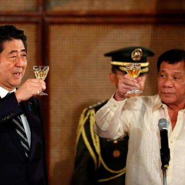 Japan Turns a Blind Eye to Philippines' Abusive 'Drug War'