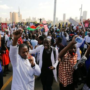 Kenya's Government Should Resolve Doctors' Strike
