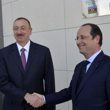 France Should Face up to Azerbaijan's Rights Record
