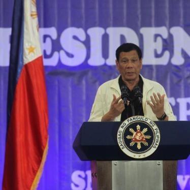 Rodrigo Duterte Relaunches Philippine Drug War Despite Calls for Investigation