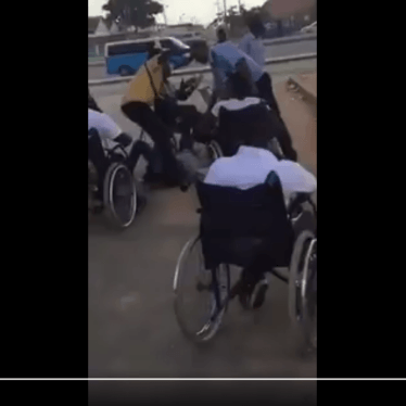 Angolan Police Attack Protesters in Wheelchairs