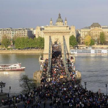 Mass Protests Fail to Curb Hungary's Crackdown