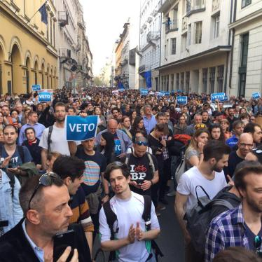Hungary: Bill Seeks to Stifle Independent Groups
