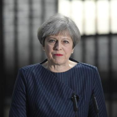 Theresa May Should Defend, Not Denigrate, Human Rights