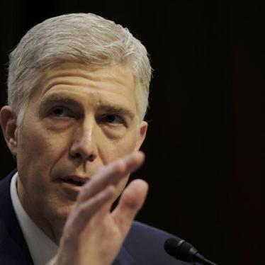 US Senators Press Supreme Court Nominee on Torture