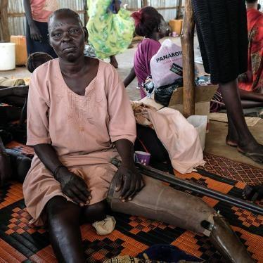 Soudan du Sud : Les personnes handicapées et âgées sont confrontées à des dangers