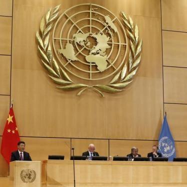 中国人权侵犯感染联合国