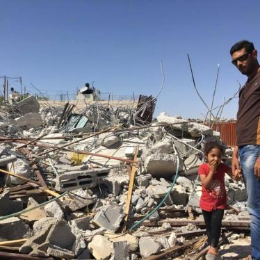 Jerusalem Home Demolitions Harm Children