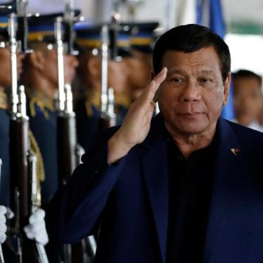 Duterte Expands 'Drug War' to a War on Accountability