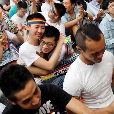 亚洲第一:台湾将合法化同性婚姻