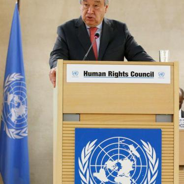 Central Asia: UN Leader Should Feature Rights on Regional Visit