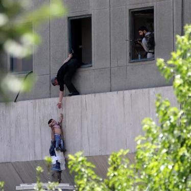 Iran: Deadly Attacks in Tehran