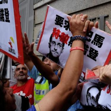 Hong Kong Rejects Asylum for Snowden Helpers