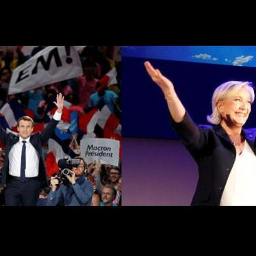 France: Presidential Run-Off Offers Choice on Rights