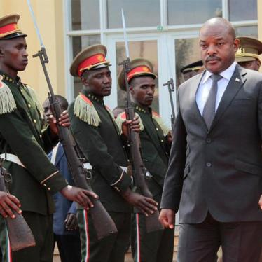 Burundi's refusal to cooperate with inquiry in contempt of membership on UN rights body